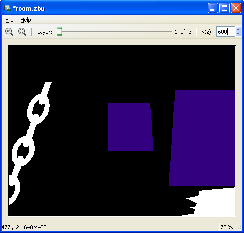SLUDGE Z-Buffer Maker for Windows screenshot